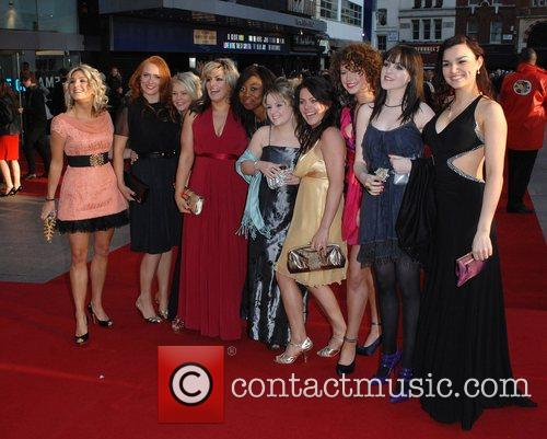 UK premiere of 'Leatherheads' held at the Odeon...