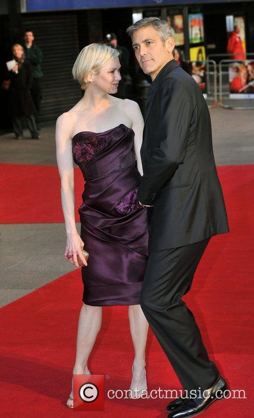 Renee Zellweger and George Clooney 14