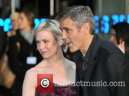 Renee Zellweger and George Clooney 17