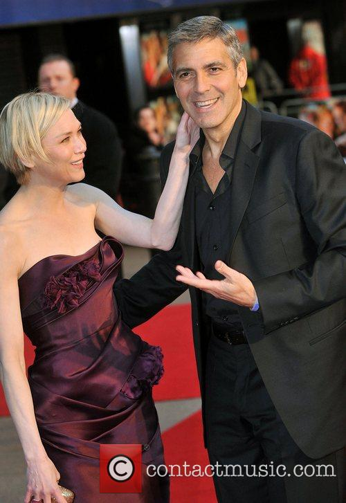 Renee Zellweger and George Clooney 16