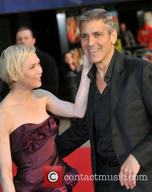 Renee Zellweger and George Clooney 15