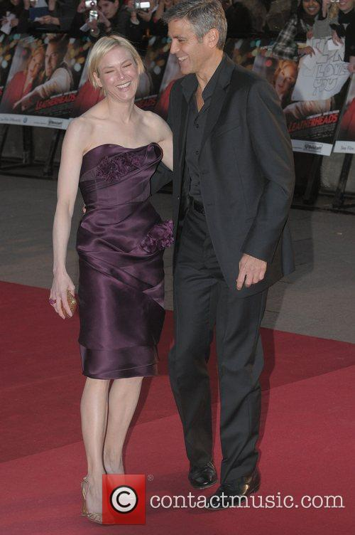 Renee Zellweger and George Clooney 19