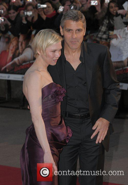 Renee Zellweger and George Clooney 22
