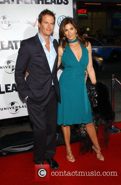 Cindy Crawford and Rande Gerber 'Leatherheads' Premiere held...