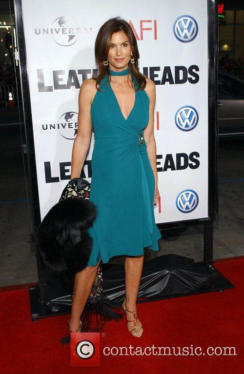 Cindy Crawford 'Leatherheads' Premiere held at the Grauman's...