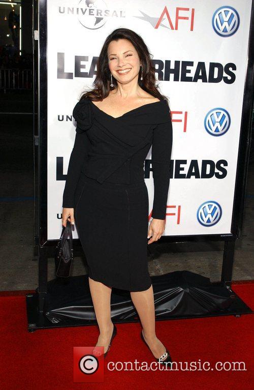 Fran Drescher 'Leatherheads' Premiere held at the Grauman's...