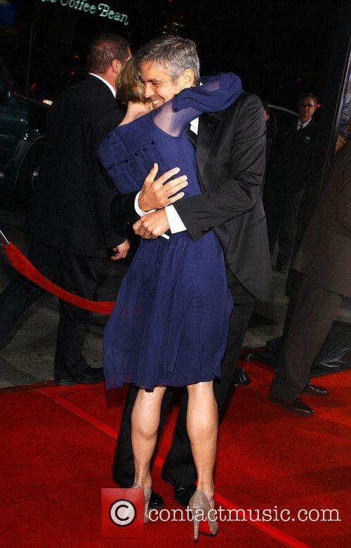 Renee Zellweger and George Clooney 10
