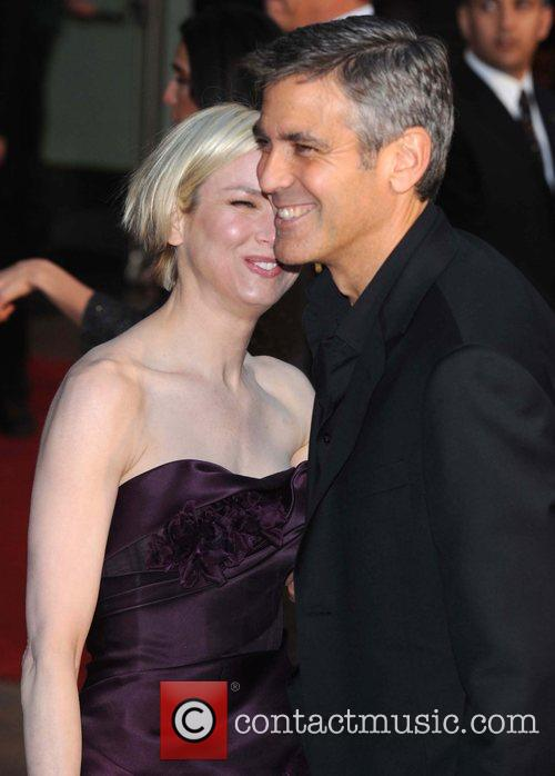 Renee Zellweger and George Clooney 11