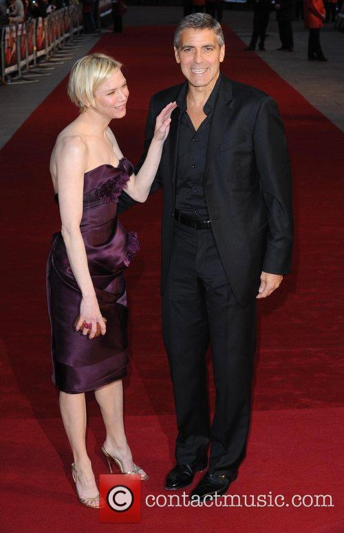 Renee Zellweger and George Clooney 8