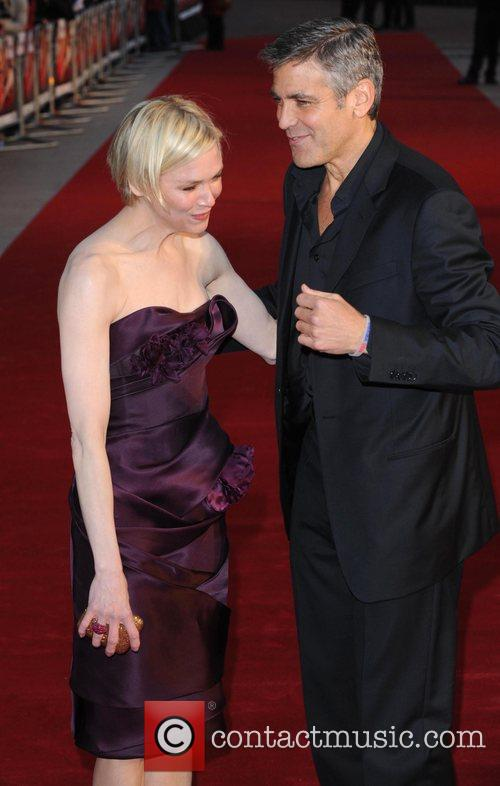 Renee Zellweger and George Clooney 6