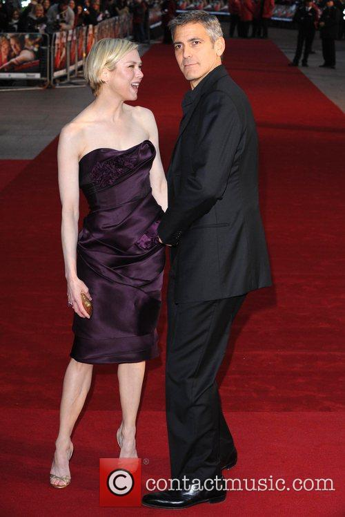 Renee Zellweger and George Clooney 4
