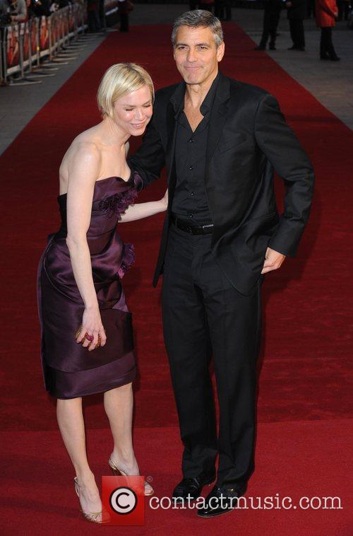 Renee Zellweger and George Clooney 10