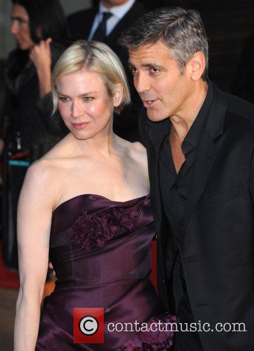 Renee Zellweger and George Clooney 7