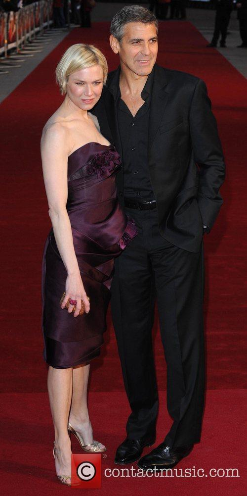 Renee Zellweger and George Clooney 5