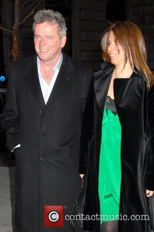 Aidan Quinn and guest Special Screening of 'Leatherheads'...