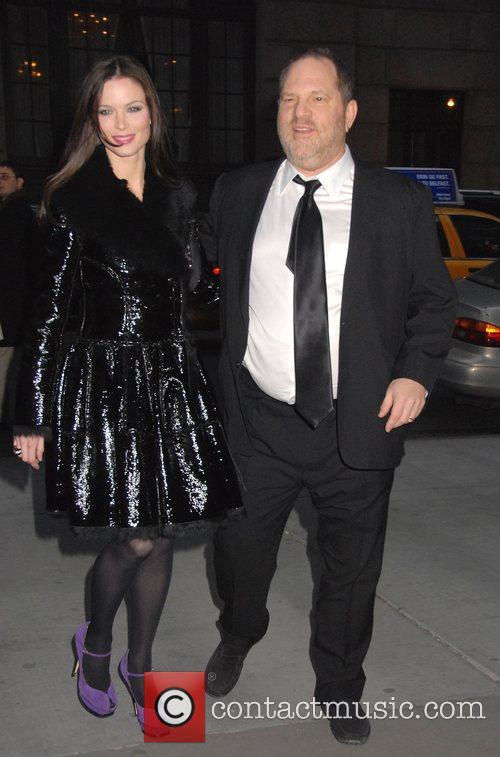 Harvey Weinstein and Georgina Chapman Special Screening of...