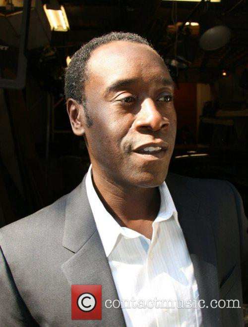 Don Cheadle leaves ABC Studios after appearing on...