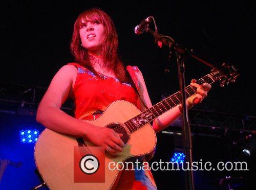 Kate Nash  performing at the 2007 Carling...