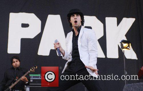 Performing at the 2007 Carling Weekend Festival at...