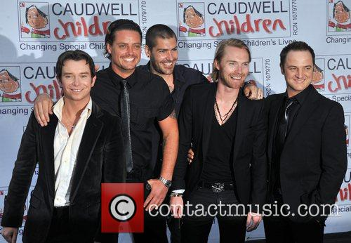 Stephen Gately, Keith Duffy, Ronan Keating and Shane Lynch 2