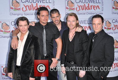 Stephen Gately, Keith Duffy, Ronan Keating and Shane Lynch 3