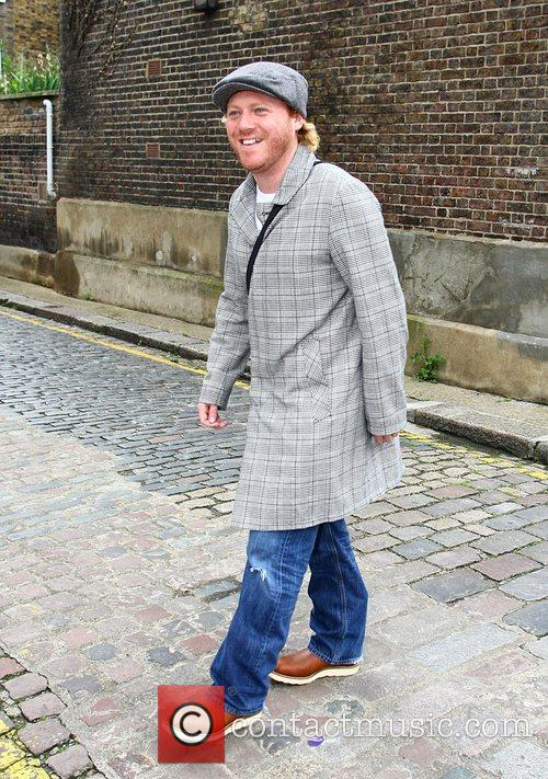 Leigh Francis Out walking around Primrose Hill London,...