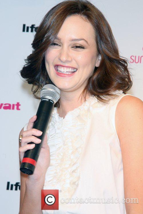'Gossip Girl' star Leighton Meester introduces the Sunsilk...