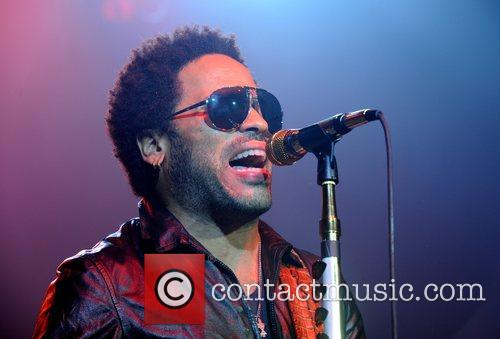 Lenny Kravitz performs a secret gig at KOKO,...