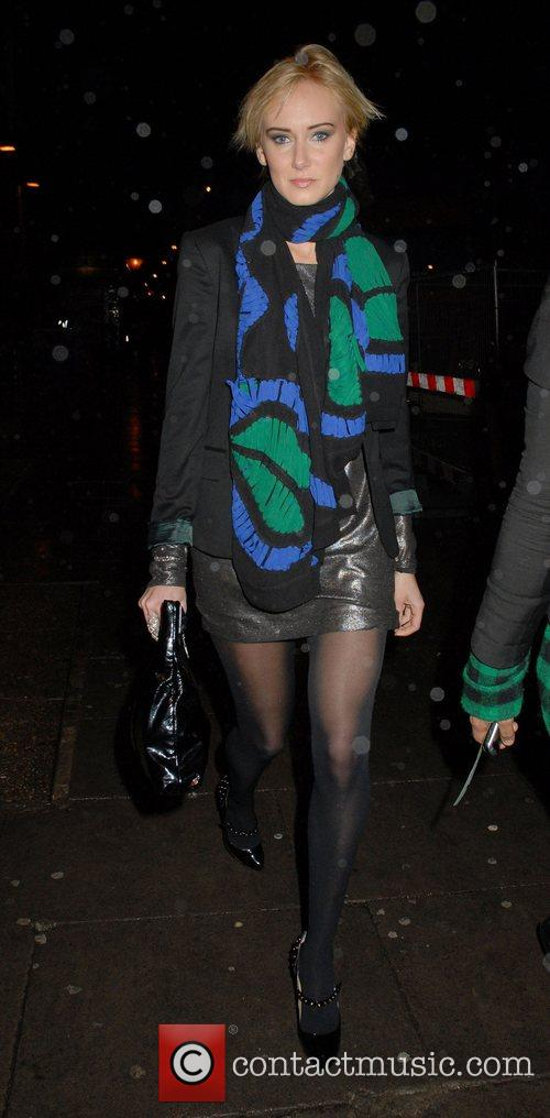 Kimberley Stewart leaving KOKO nightclub after watching Lenny...