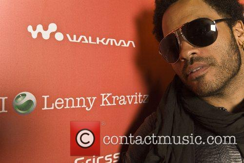 Lenny Kravitz  performs a secret concert at...