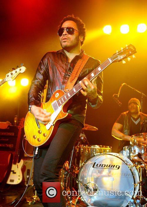 Lenny Kravitz performs