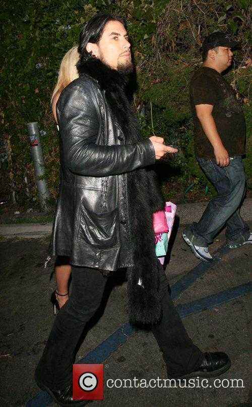 Dave Navarro leaving Les Deux nightclub Los Angeles,...
