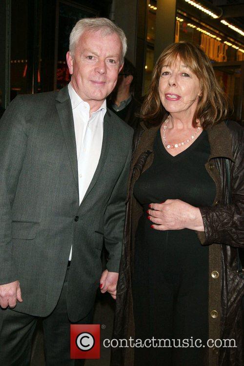 John Barrett and Frances De La Tour Opening...