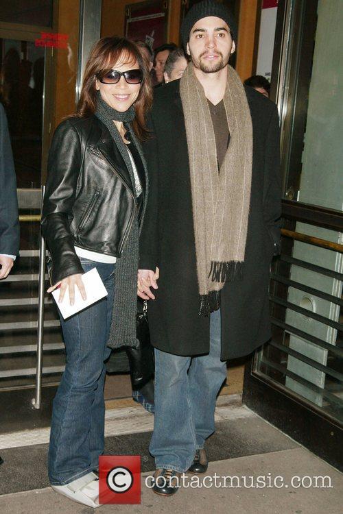 Rosie Perez and boyfriend Ramon Rodriguez Opening Night...