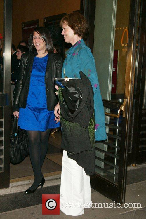 Sigourney Weaver Opening Night of 'Les Liaisons Dangereuses'...