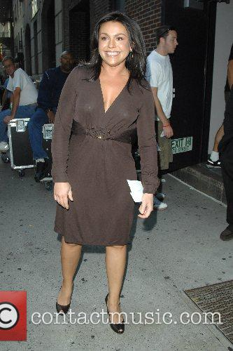 Rachael Ray outside Ed Sullivan Theatre for the...