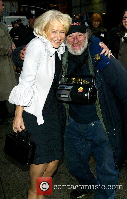 Helen Mirren and David Letterman 10