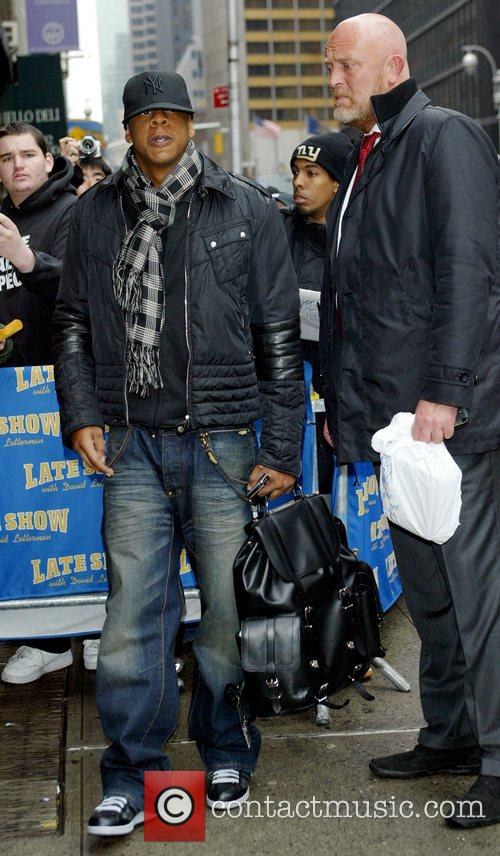 Jay Z and David Letterman 5