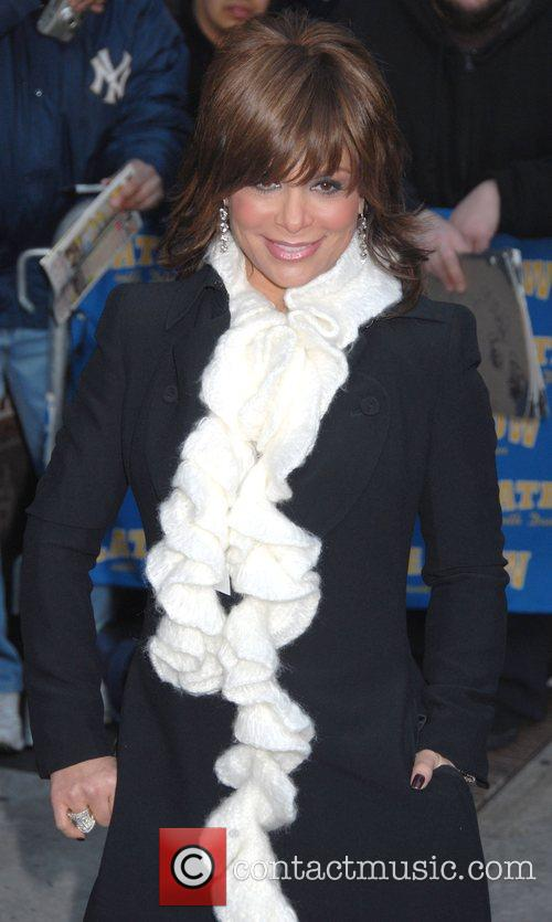 Paula Abdul and David Letterman 3