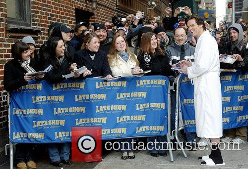 Jim Carrey and David Letterman 10