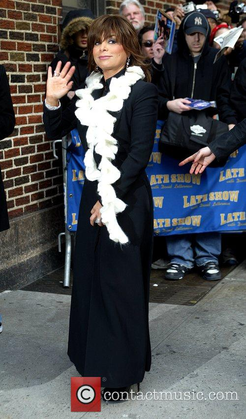 Paula Abdul and David Letterman 11