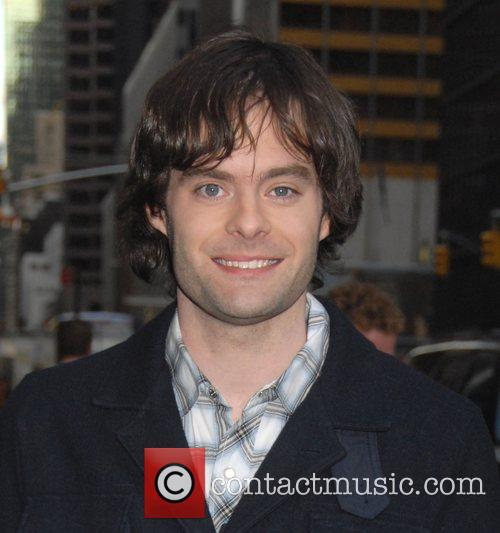 Bill Hader and David Letterman 2