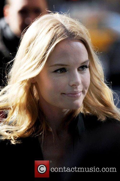 Kate Bosworth, David Letterman and Ed Sullivan Theatre 2