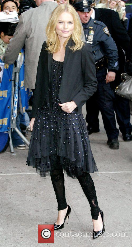 Kate Bosworth, David Letterman and Ed Sullivan Theatre 8