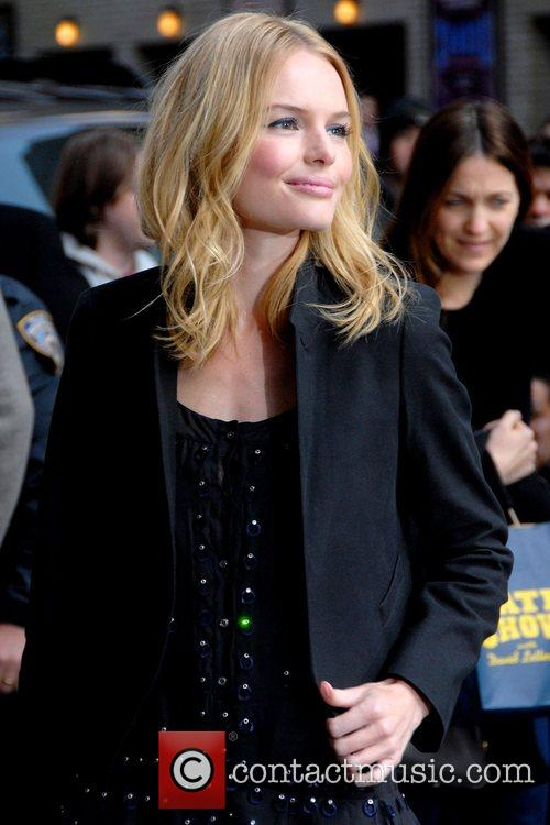 Kate Bosworth, David Letterman and Ed Sullivan Theatre 17