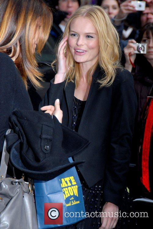 Kate Bosworth, David Letterman and Ed Sullivan Theatre 16