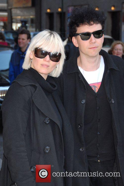 The Raveonettes, David Letterman and Ed Sullivan Theatre