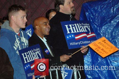 Hillary Clinton Supporters, David Letterman and Hillary Clinton 1