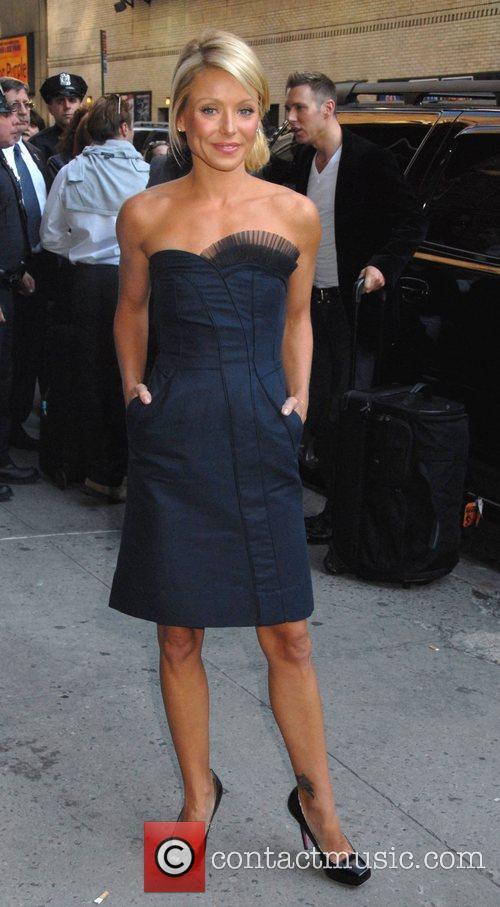 Kelly Ripa and David Letterman 6