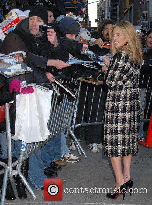 Sarah Michelle Gellar and David Letterman 20